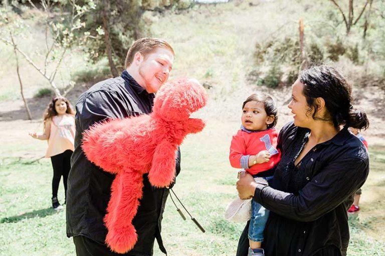 Elmo 1st Birthday Event